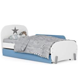 מיטת ילדים ונוער קלאסית רוחב 90