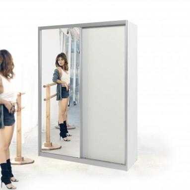 ארון הזזה דלת עם מראה רוחב 170-240