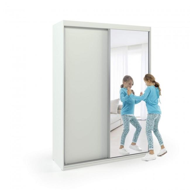 ארון הזזה דלת עם מראה רוחב 100-160