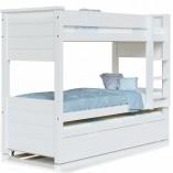 מיטת קומותיים לילדים ונוער בצבע אטום