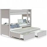 מיטה קומותיים לילדים ונוער בצבע אפוקסי